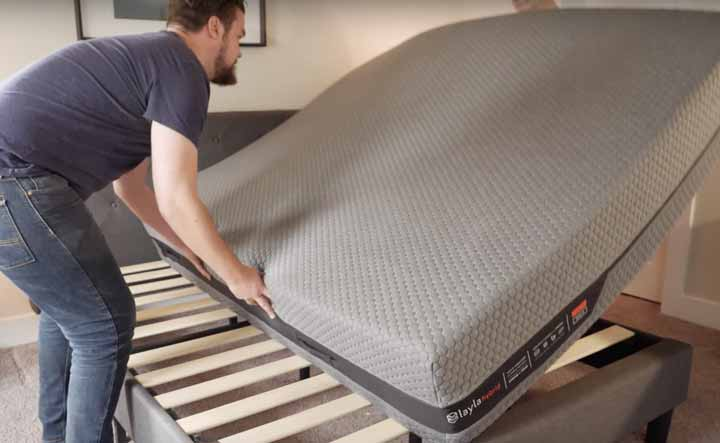 Flipping The Layla Hybrid Mattress