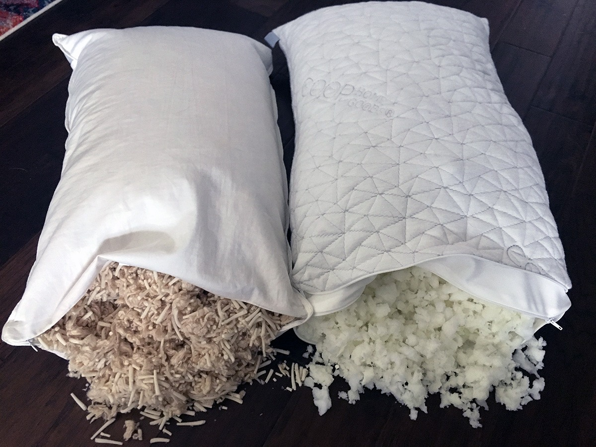 Pillow Reviews: Brentwood Home Helena vs. Coop Home Goods