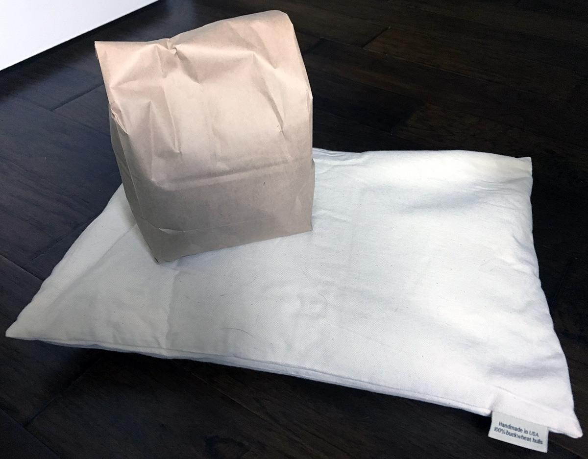 ComfySleep Buckwheat Pillow Review