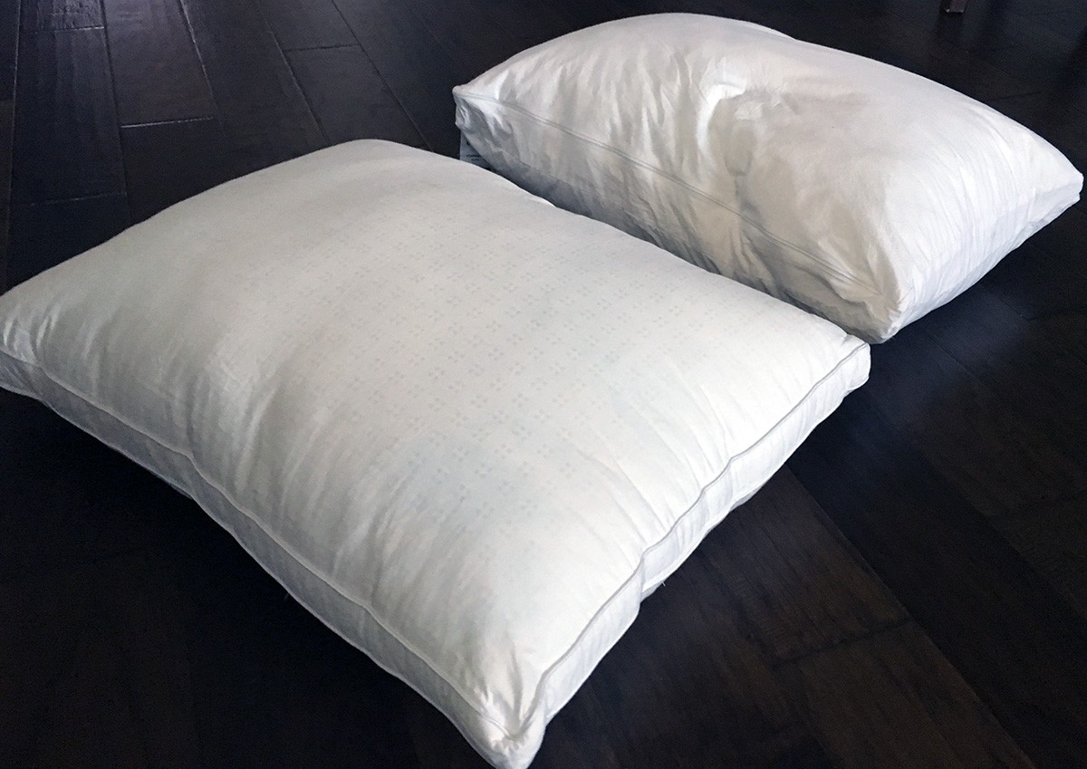 Pillow Reviews Five Star Down Alternative Vs Casper