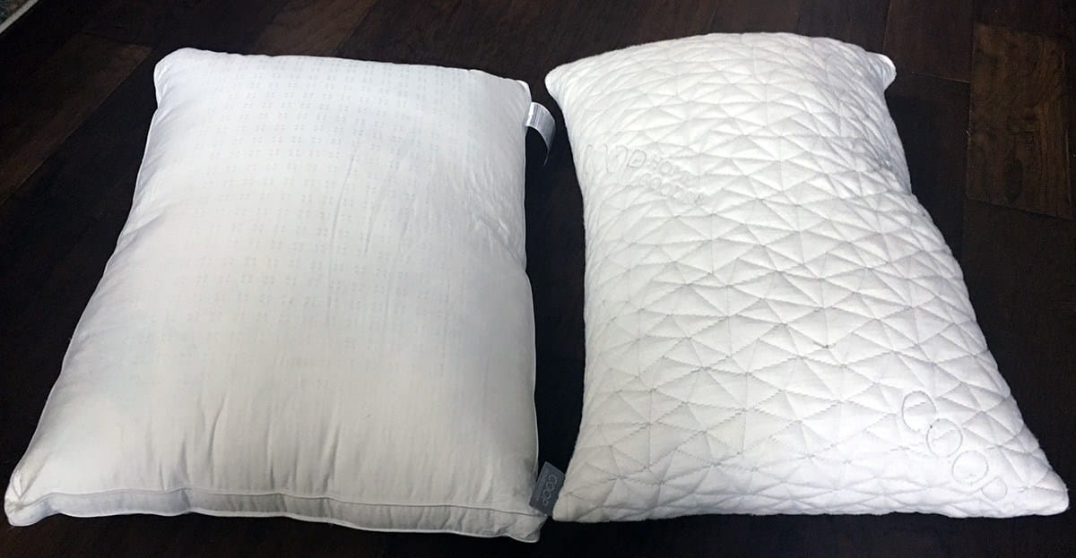 Pillow Reviews Five Star Down Alternative Vs Coop Home