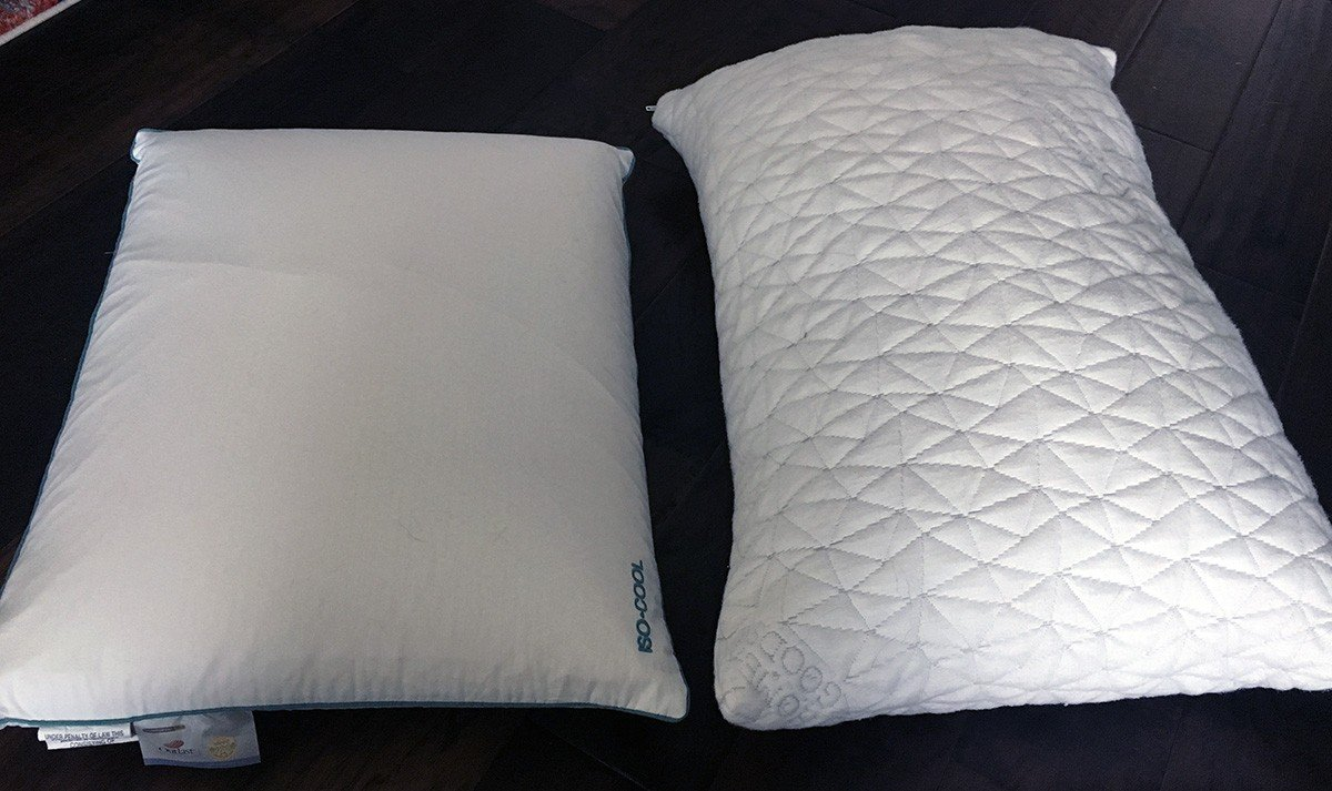 Pillow Reviews: Iso-Cool Traditional vs. Coop Home Goods