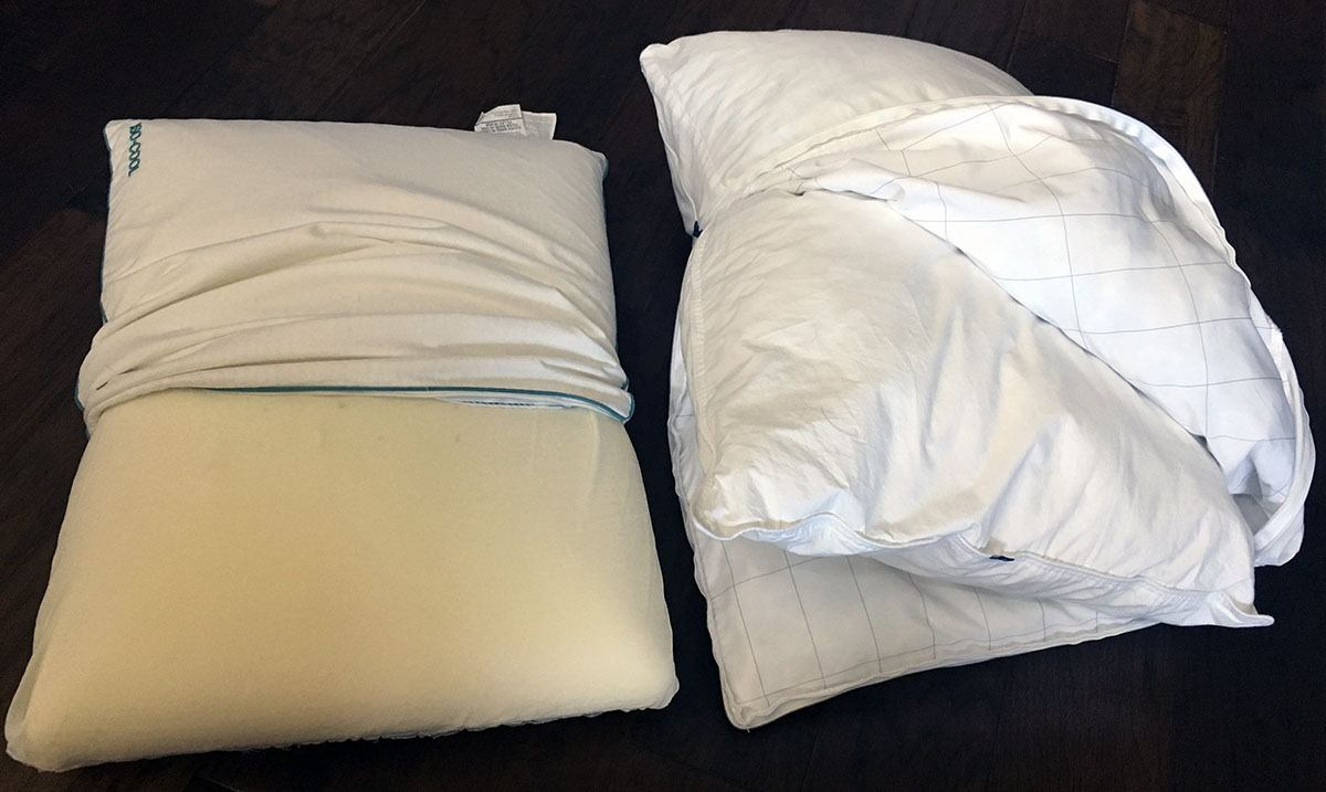 Pillow Reviews: Iso-Cool Traditional vs. Casper