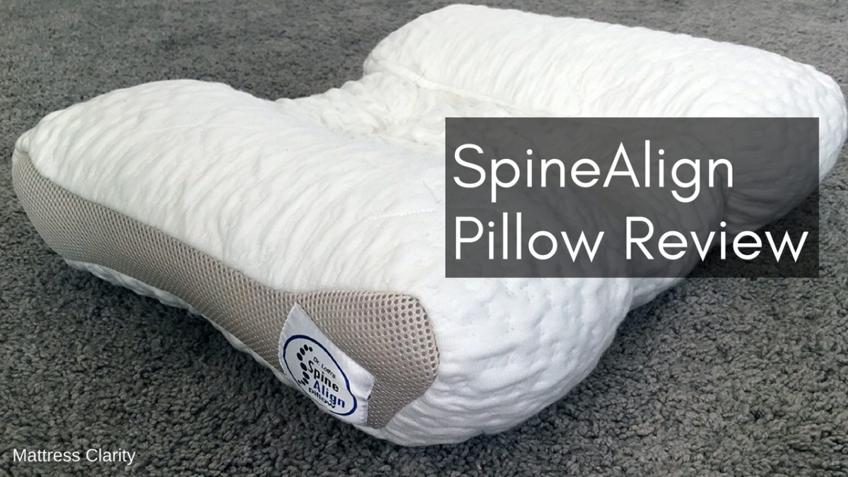Spinealign Pillow Review Mattress Clarity