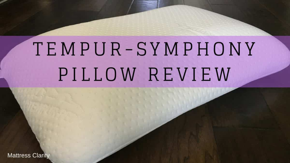 Tempur Symphony Pillow Review