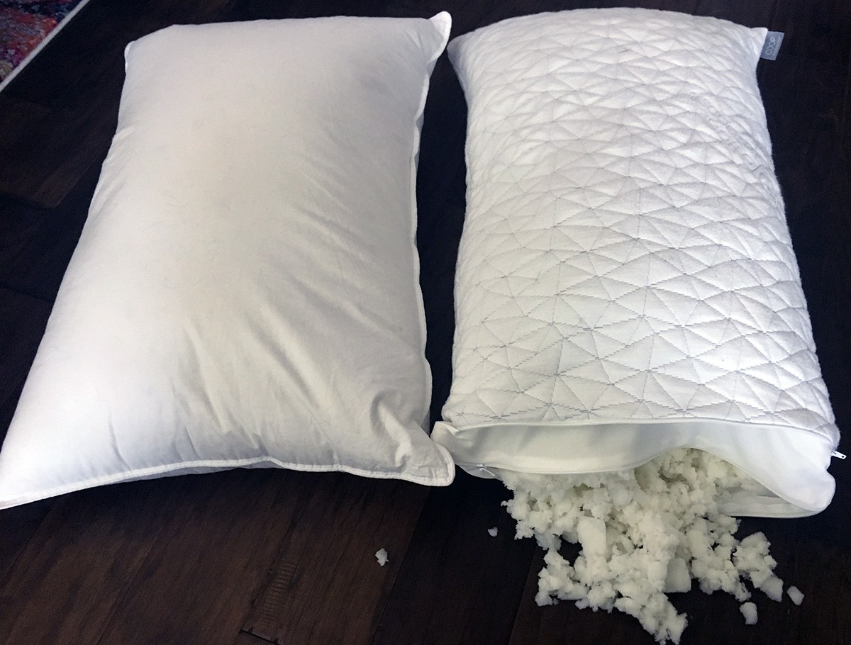 Pillow Reviews: eLuxury Supply vs. Coop Home Goods
