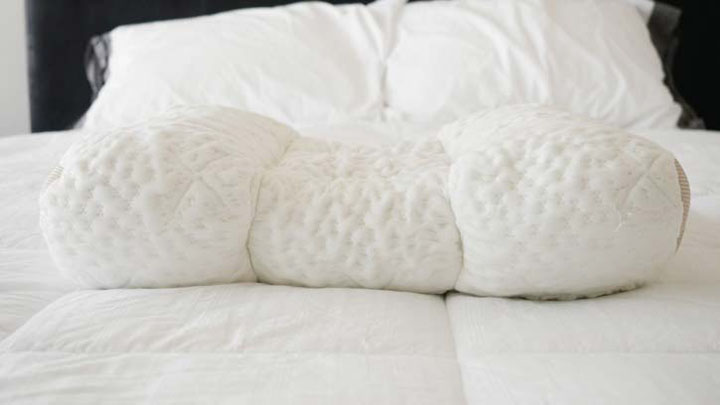 SpineAlign Pillow Review - memory foam filling