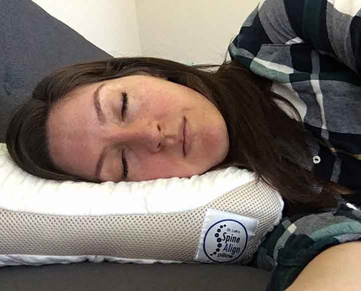 SpineAlign Pillow Review - Side sleepers