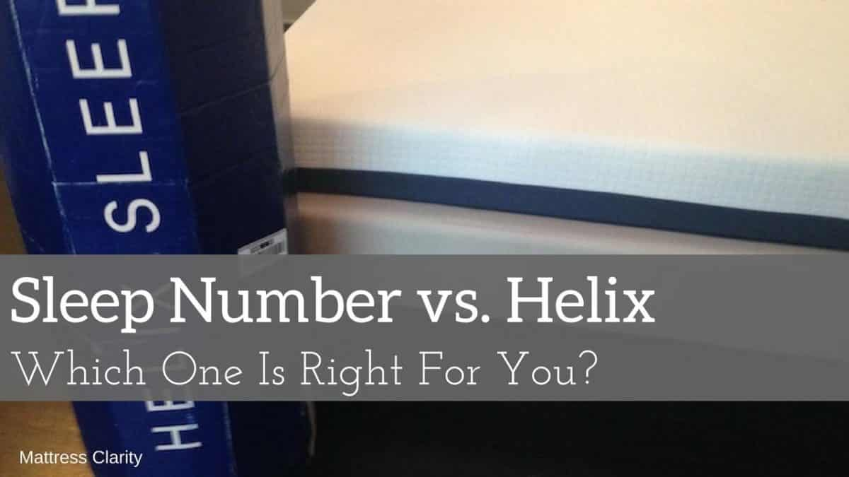 Sleep Number Vs Helix Which One Is Right For You