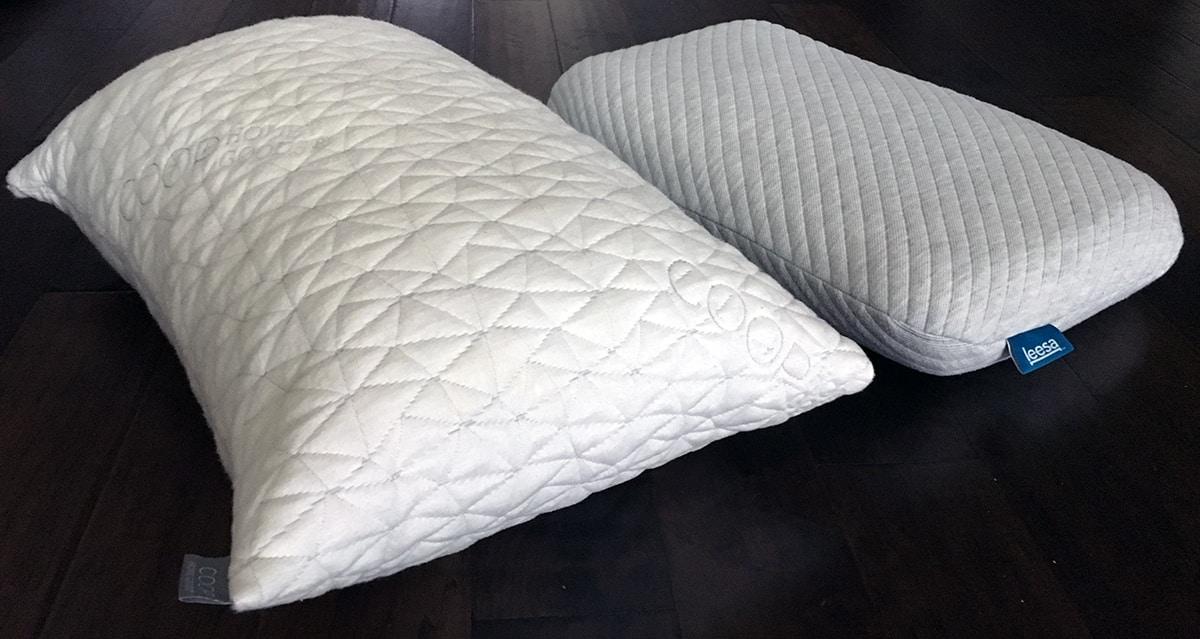 Pillow Reviews Coop Home Goods Vs Leesa