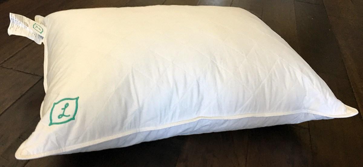 L Pillow Review A Customizable Down Alternative