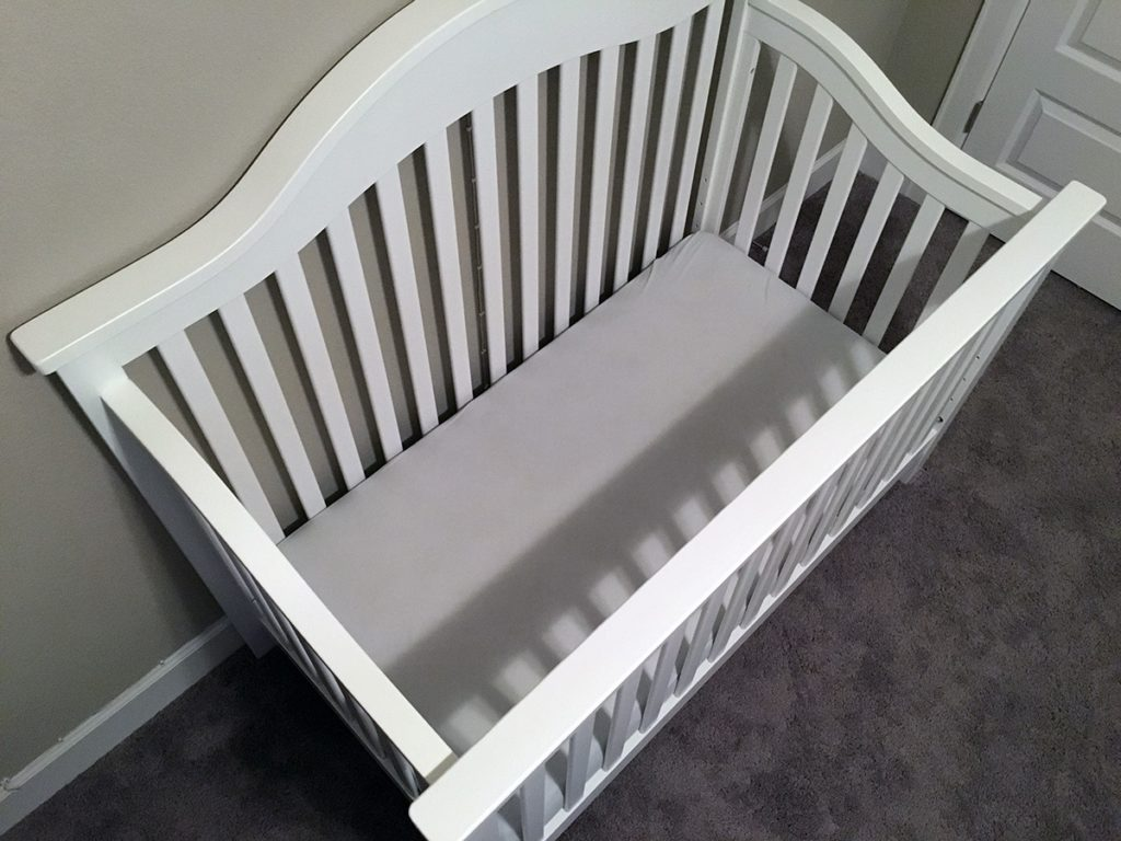 Naturepedic Crib Mattress in Crib