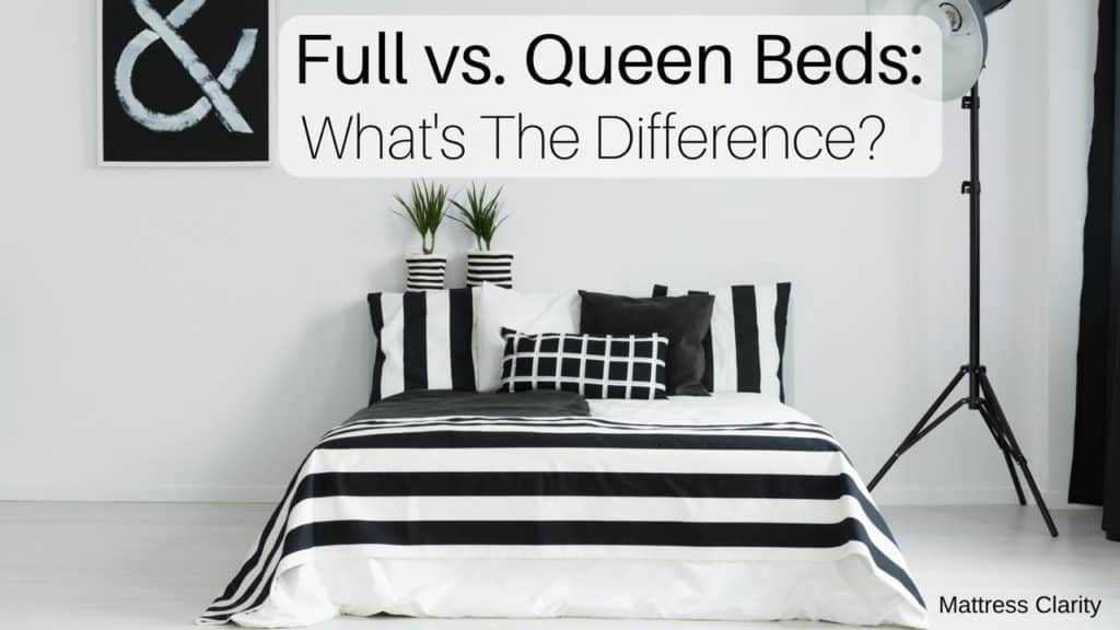 Full Vs Queen Bed Size Mattress, Can A Queen Comforter Fit A Full Bed