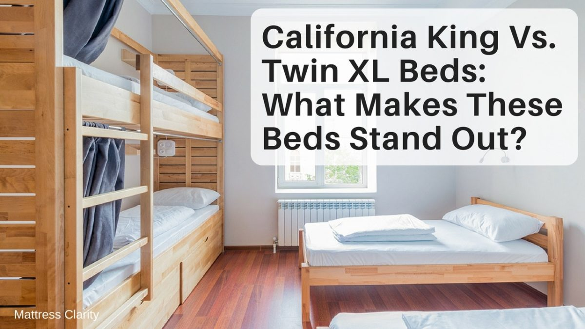 Picture of: California King Vs Twin Xl Bed Sizes 2020 What Are The Differences