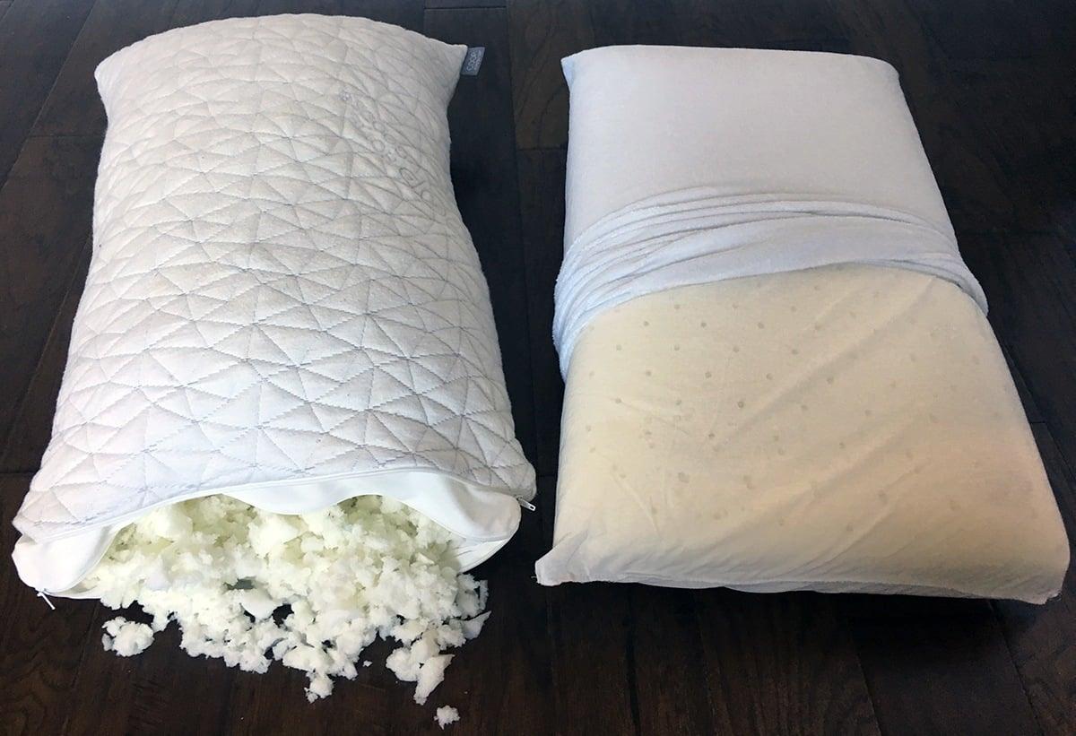 pillow reviews coop home goods vs classic brands conforma. Black Bedroom Furniture Sets. Home Design Ideas
