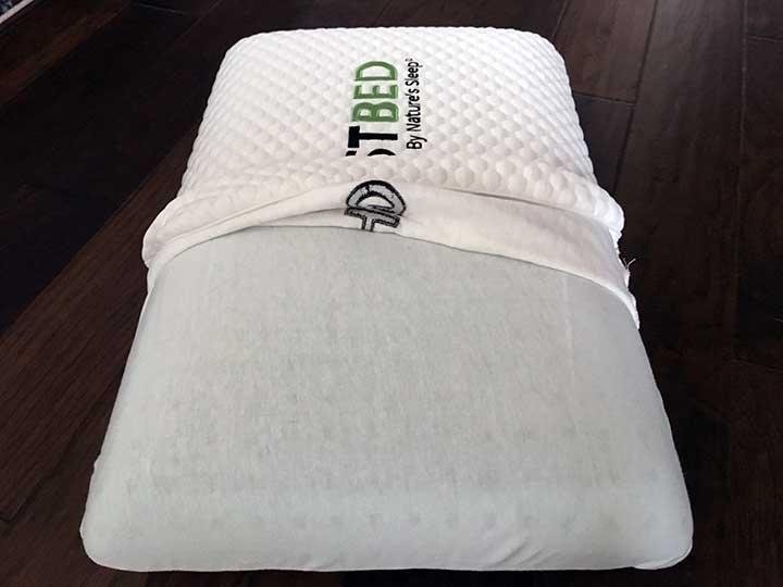 GhostPillow Pillow review - solid gel memory foam fill