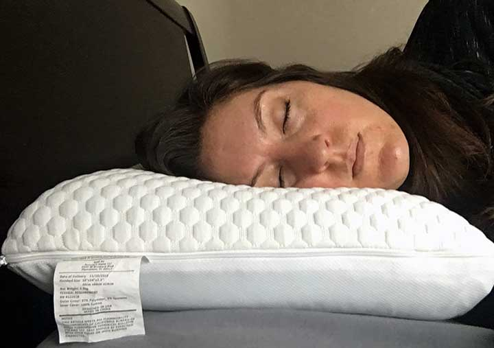 GhostPillow Pillow review - side sleepers
