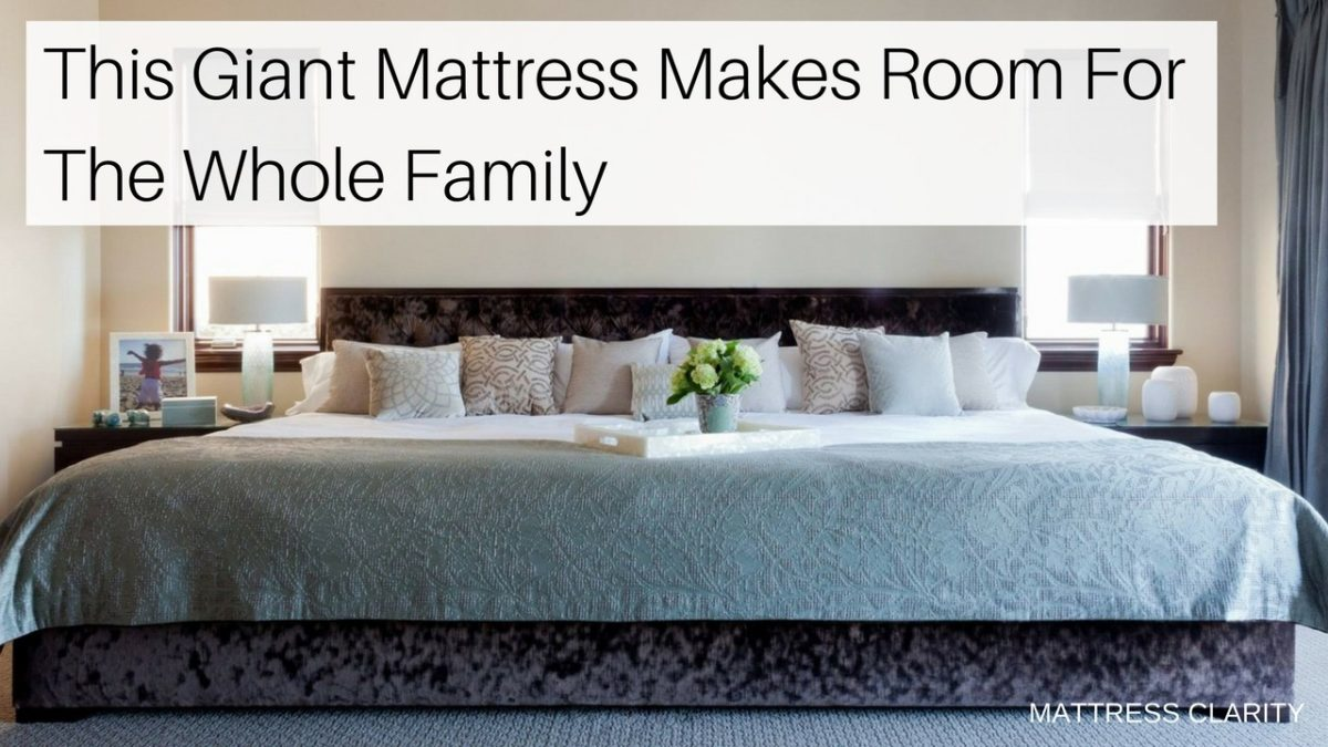 Tempurpedic Mattress Reviews >> This Giant Mattress Makes Room For The Whole Family