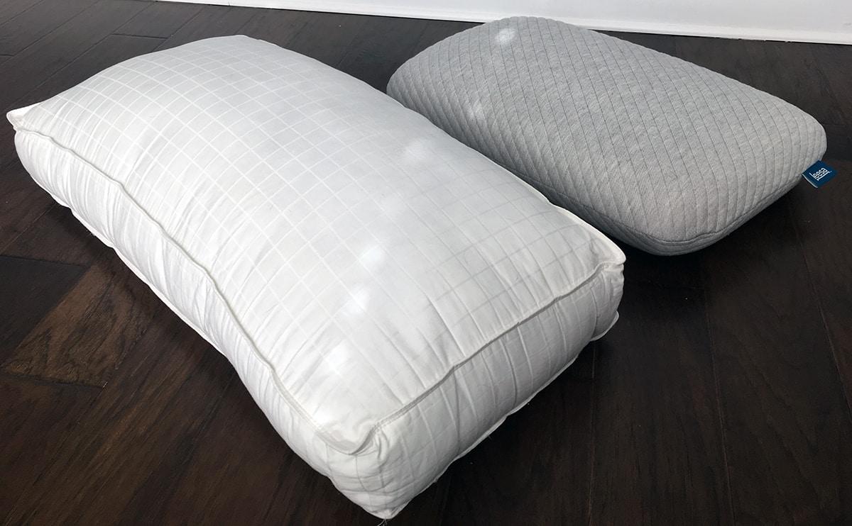Pillow Reviews Beyond Down Gel Fiber Vs Leesa Mattress
