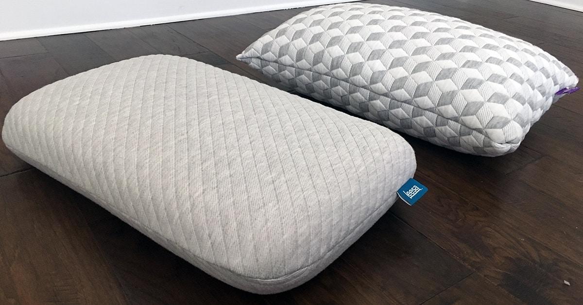 Pillow Reviews Leesa Vs Layla