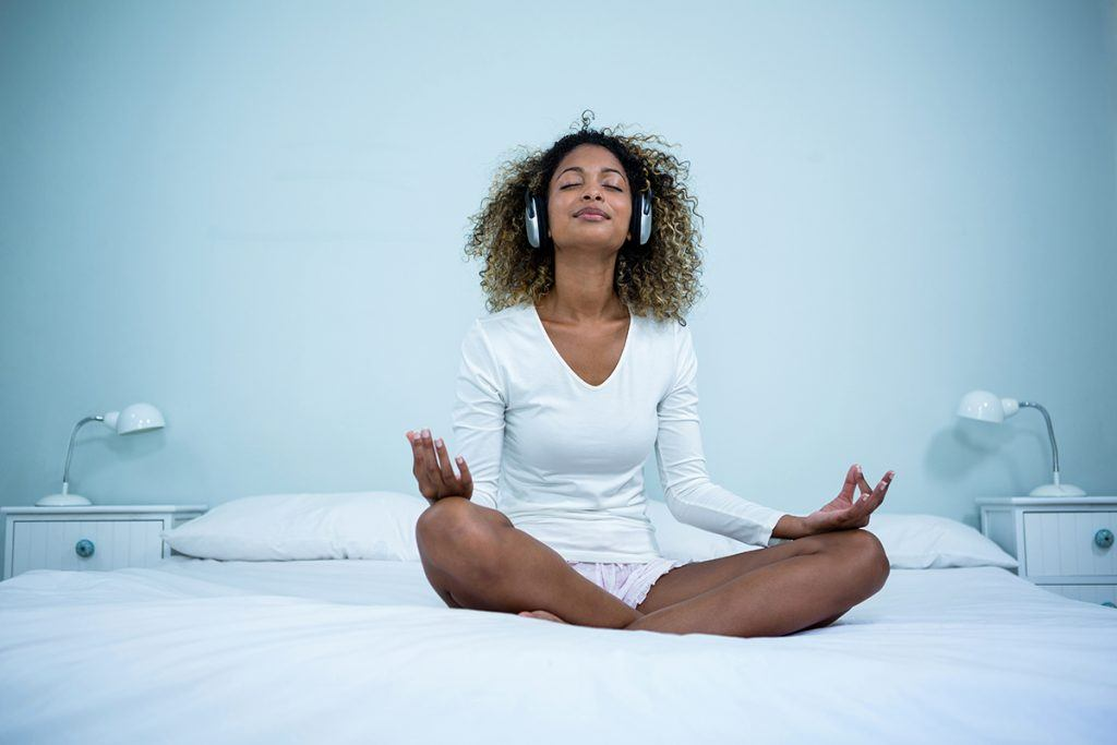 Meditation sleep aid