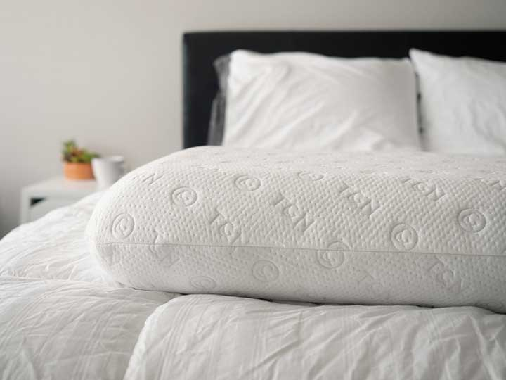 tuft & needle pillow review - tencel cover