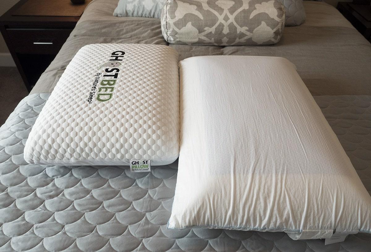 Pillow reviews ghostpillow vs tempur cloud breeze dual for Best overall pillow