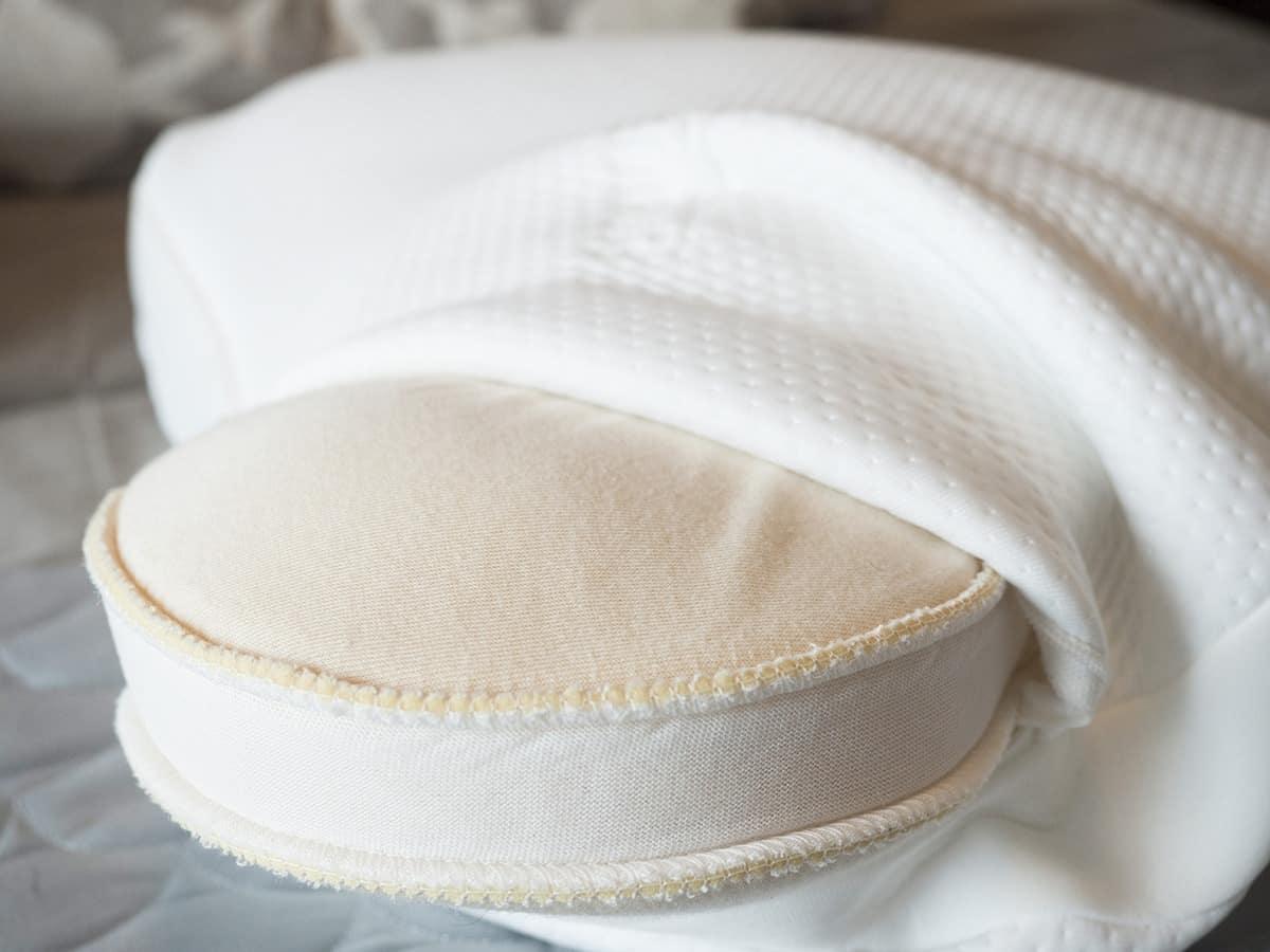 ghostpillow vs. tempur-embrace pillow - tempur-embrace foam filling