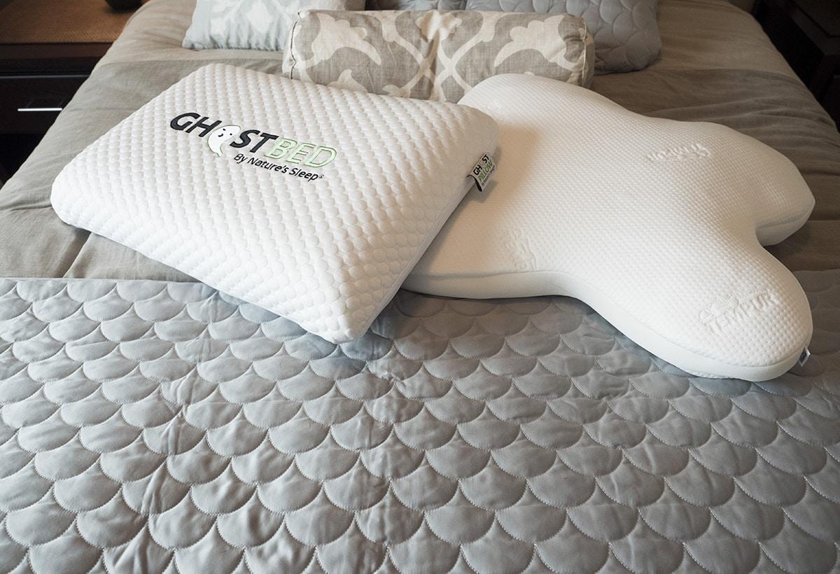 ghostpillow vs. tempur-embrace pillow - firmness and feel