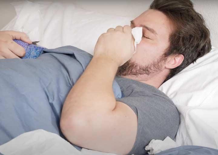 Sleeping While Sick