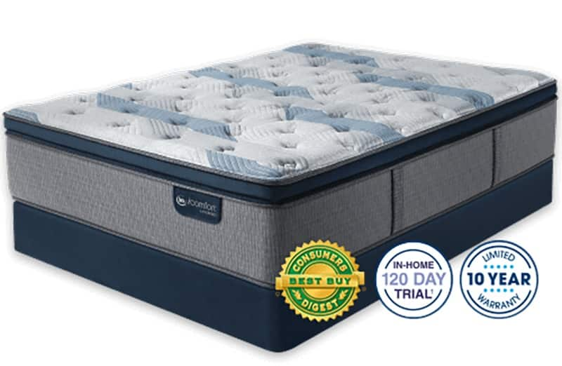 Serta Icomfort Blue Fusion 300 The Perfect Plush Pillow Top