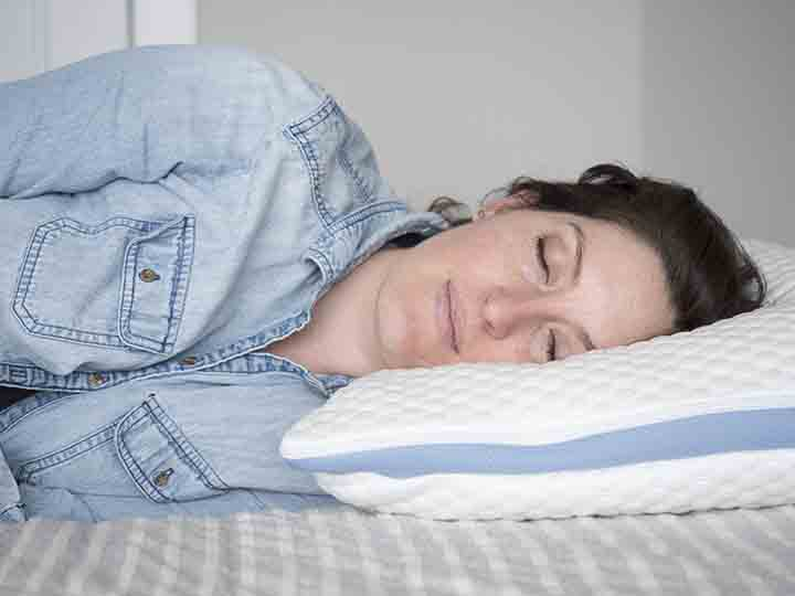 Helix + Helix Cool pillow review - side sleeping no insert