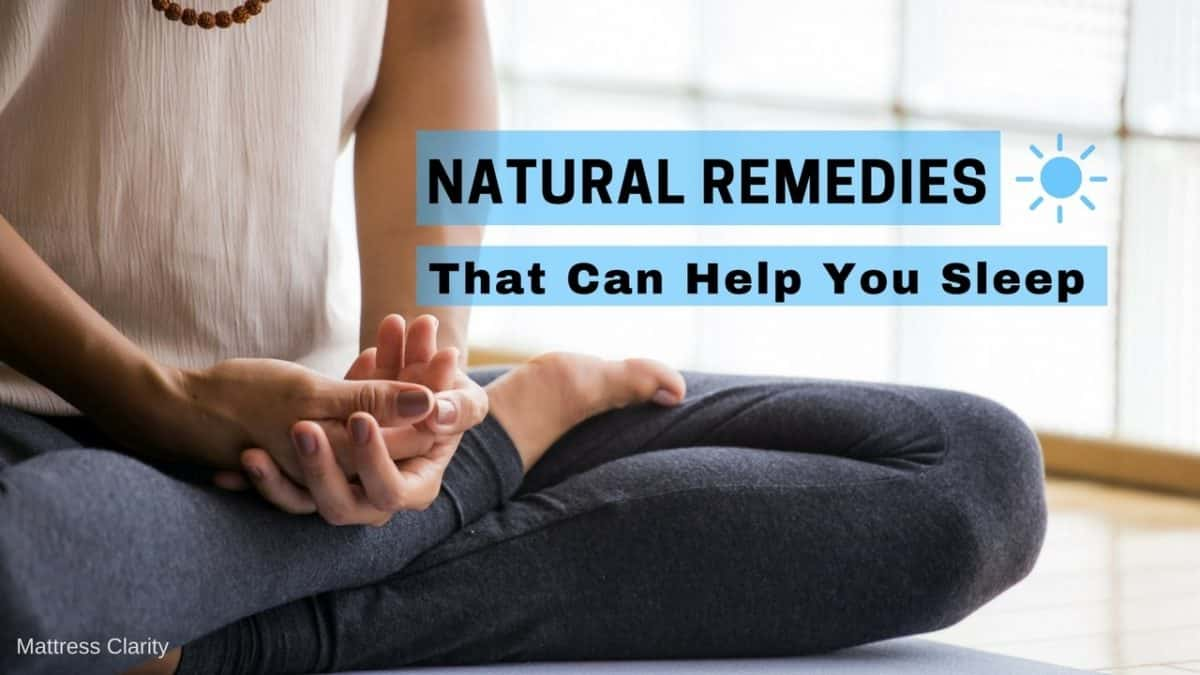 Natural Remedies That Can Help You Sleep
