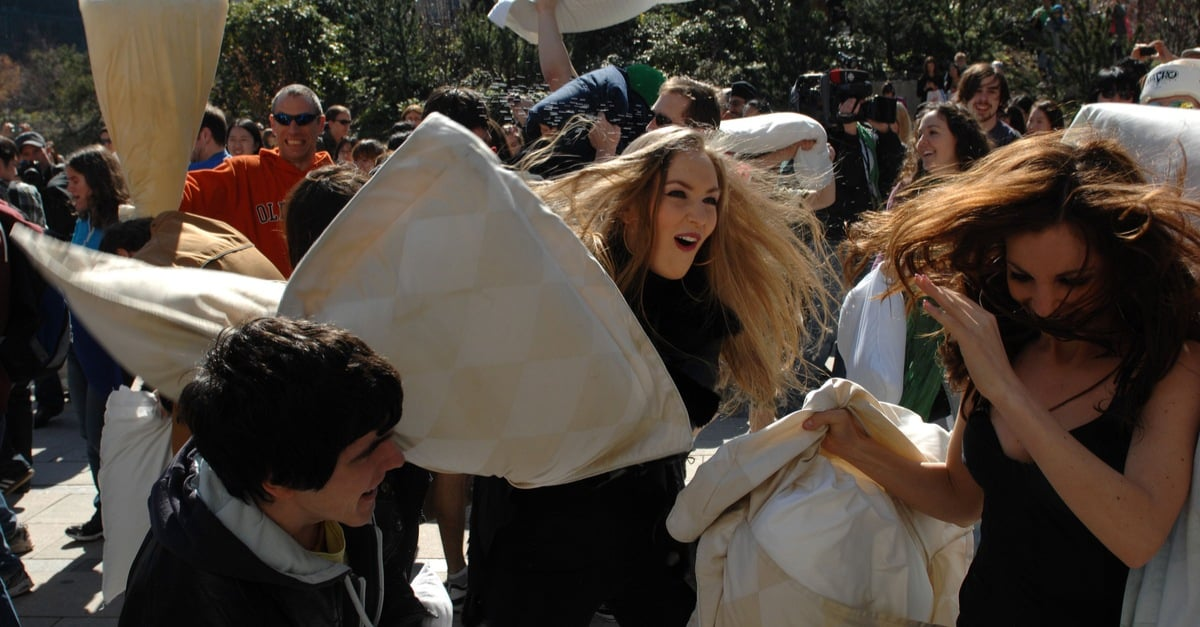 International Pillow Fight Day Is April 7 How To Join The