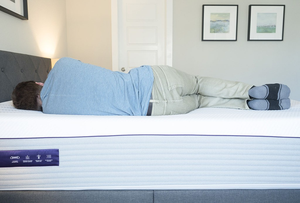 "Purple Hybrid Premier 4"" - mattress for side sleeping"