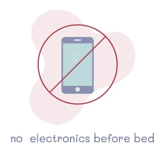 No Electronics Before Bed