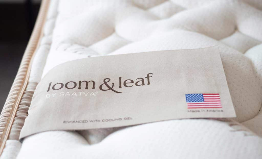 loom leaf memory foam mattress