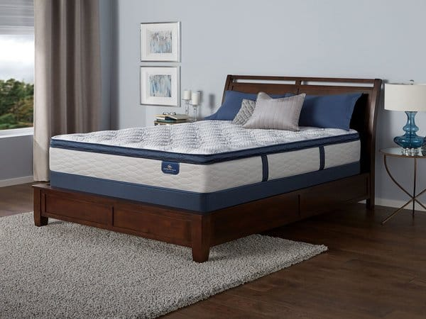 Serta Perfect Sleeper Castleview Cushion Firm Euro Pillow Top The