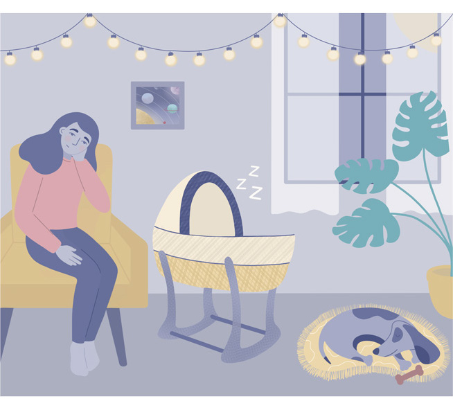 Postpartum Baby Blues