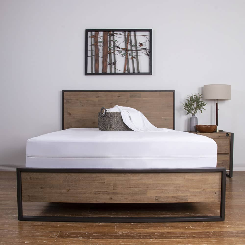 Brooklyn Bedding's encasement mattress protector