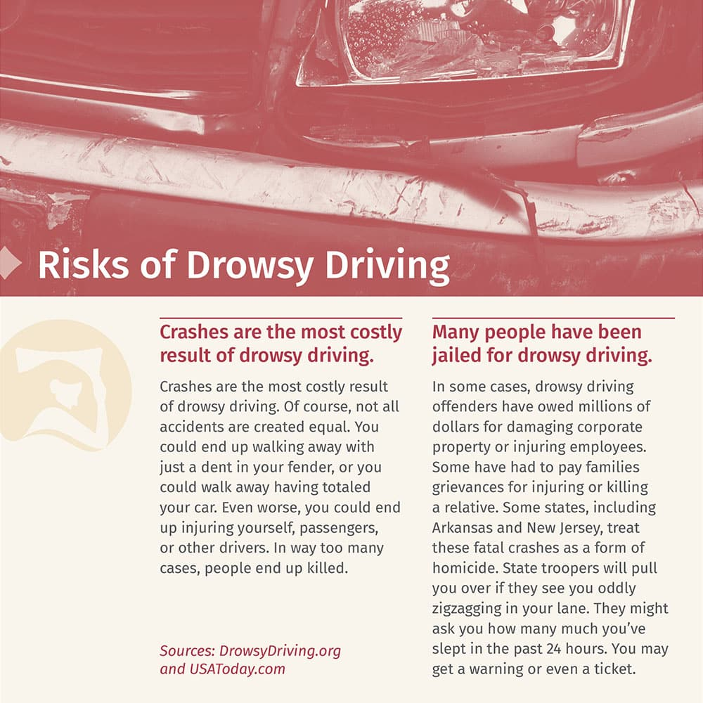 Risks Of Drowsy Driving