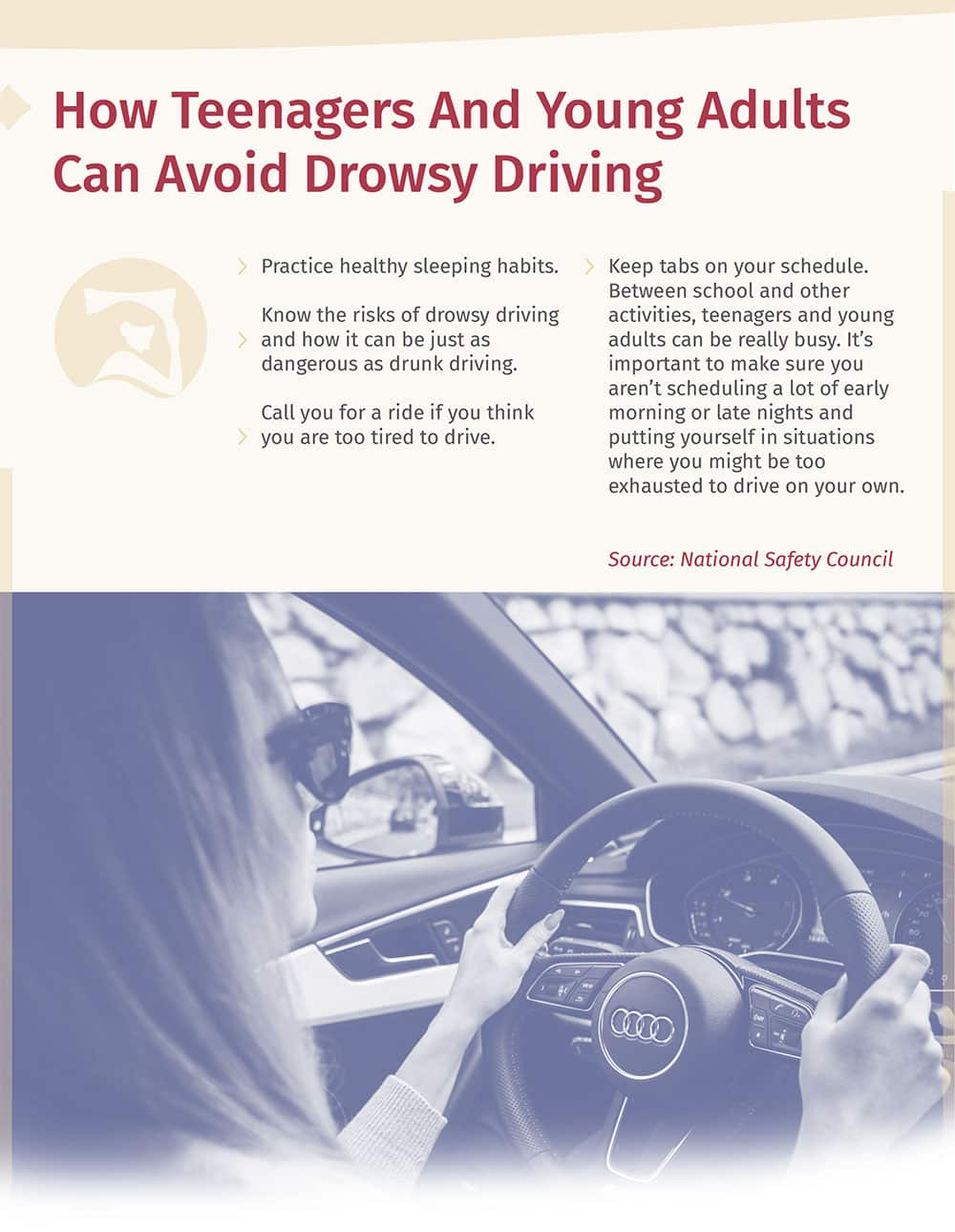 How Teenagers And Young Adults Can Avoid Drowsy Driving