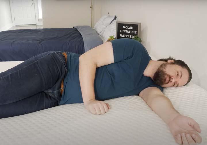 Nolah Signature - Side Sleeping