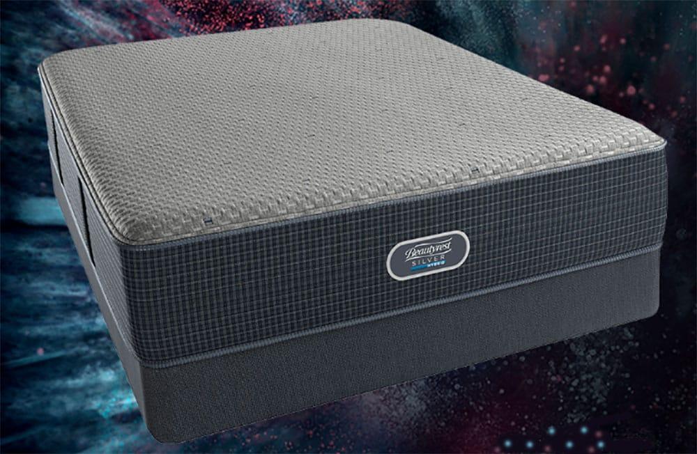 A mattress on a starry background