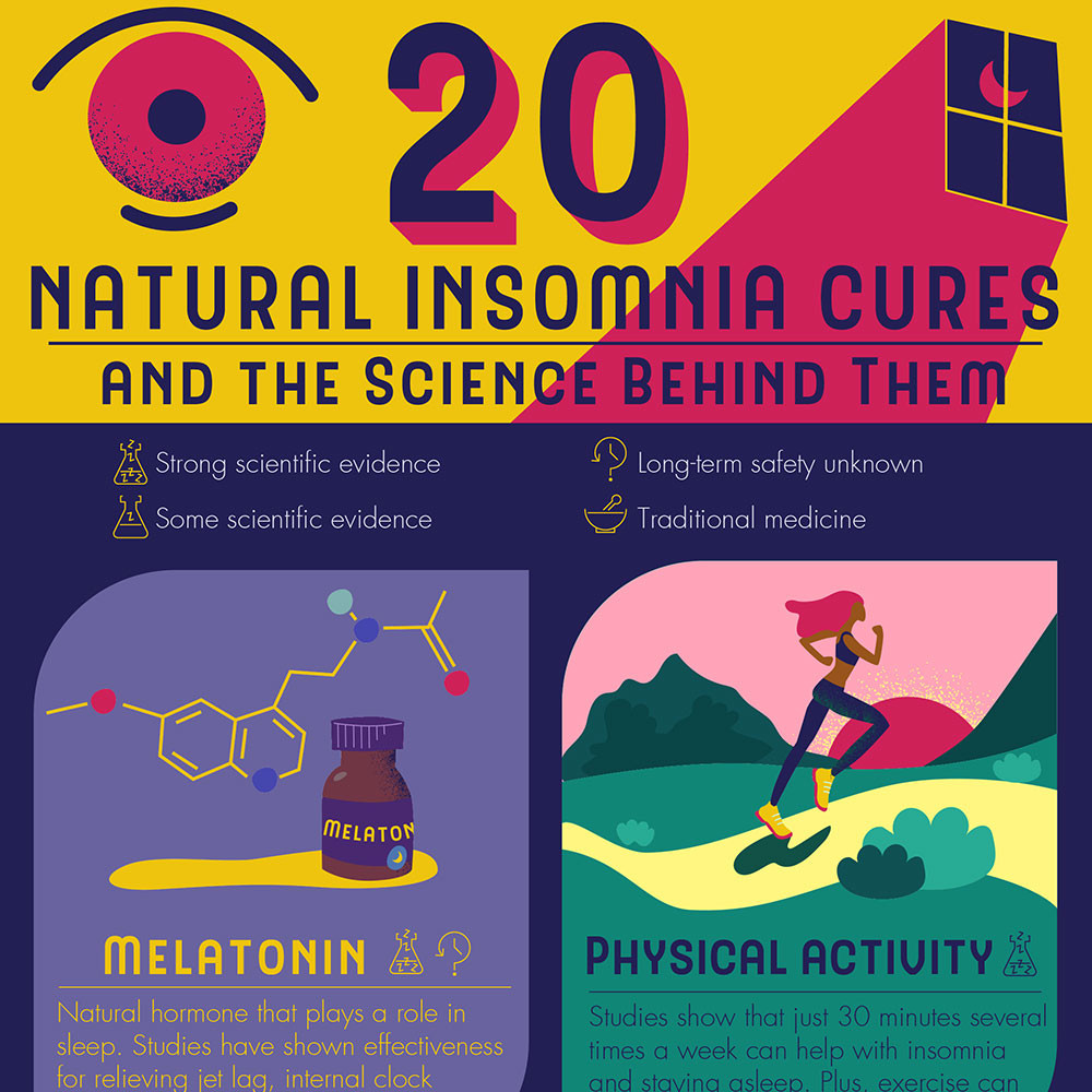 20 Natural Insomnia Cures