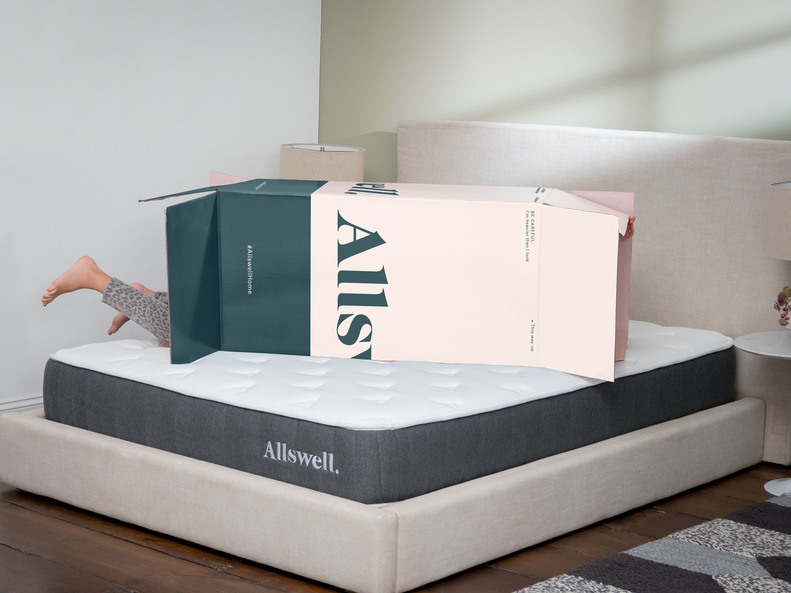 Allswell Debuts New Low Cost Hybrid Mattress