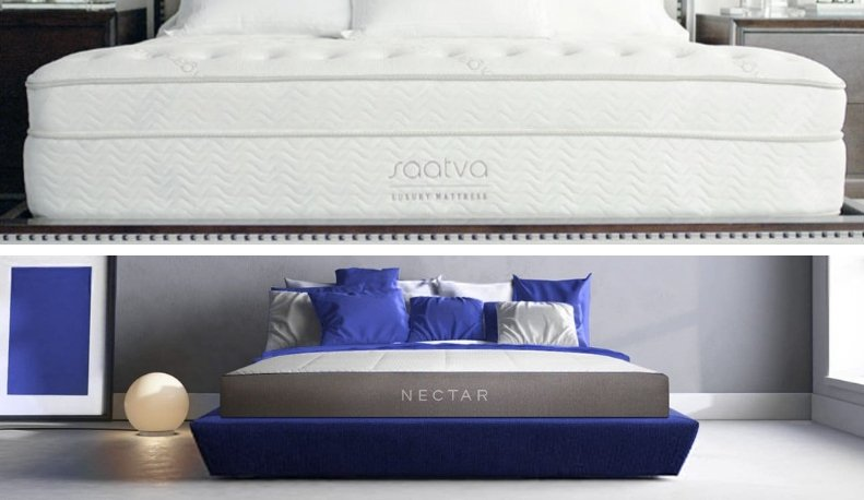 Saatva Vs Nectar Mattress Comparison Innerspring Or
