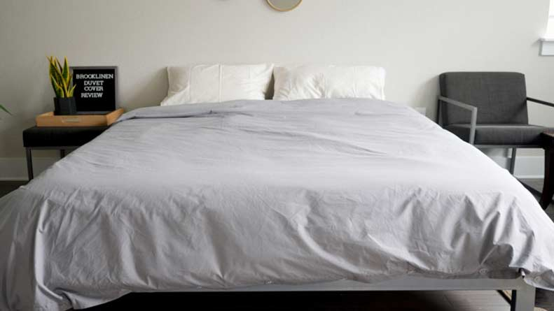 Brooklinen Classic Duvet Cover Review Great For Hot