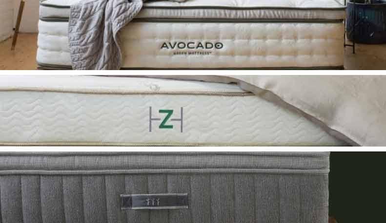 Three mattresses are compared.