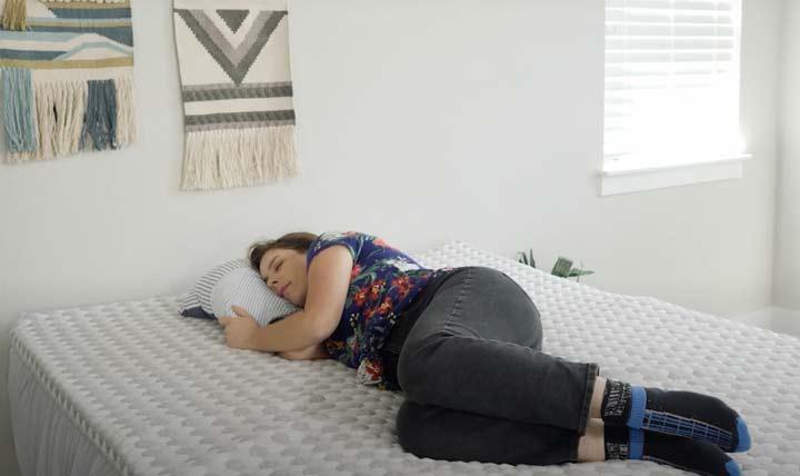 Layla Topper Side Sleeping